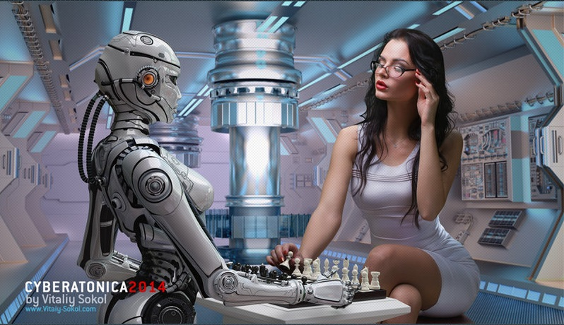 0robot_playing_chess_with_woman_by_vitaly_sokol-d86dea8